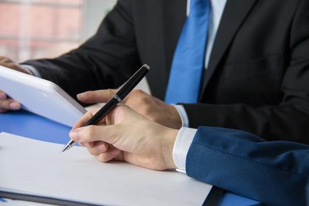 reunion de trabajo: La gente de negocios reuni�n sitio