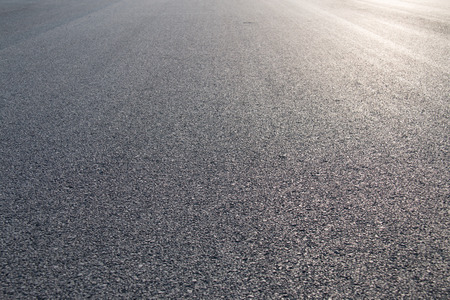 road surface: New asphalt abstract texture background Stock Photo