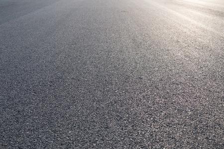 carretera: Nuevo asfalto resumen textura de fondo