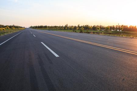 Rural road Standard-Bild