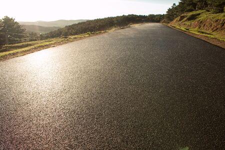 Close-up van landelijke wegen Stockfoto - 41790905