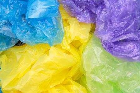 plastic bags: Disposable plastic bags Stock Photo