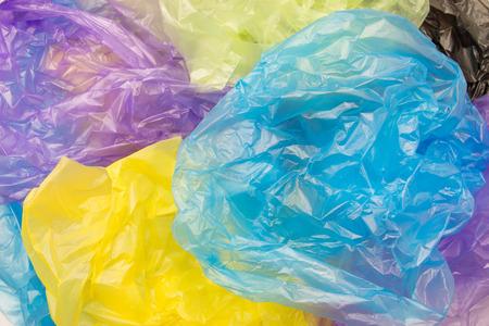Disposable plastic bags Imagens