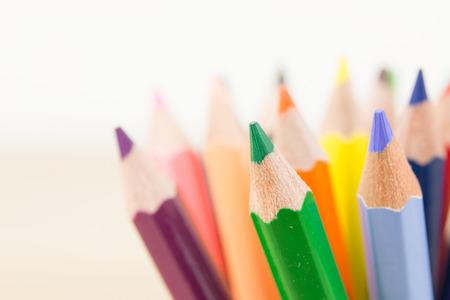 colour pencils: Colour pencils Stock Photo