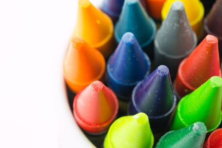 Colorful crayons Stockfoto