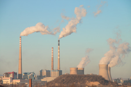 thermal pollution: power plant