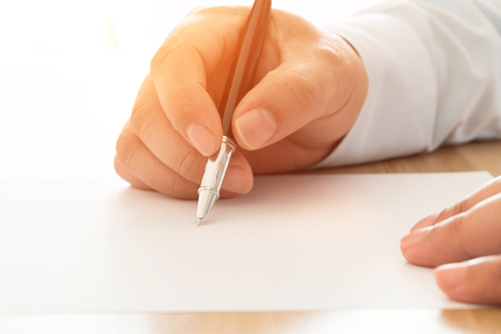 businessman signing documents: Businessman signing documents