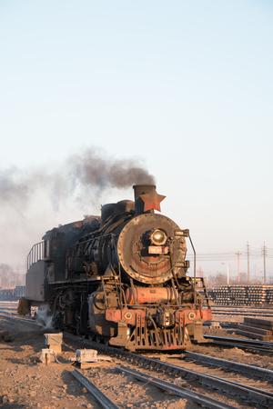 steam locomotives: Chinese steam locomotives