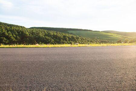 rural roads: Close-up of rural roads