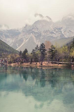 Blue Moon Valley in Lijiang, Yunnan, China Foto de archivo