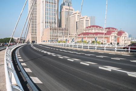 City Road in Tianjin, China