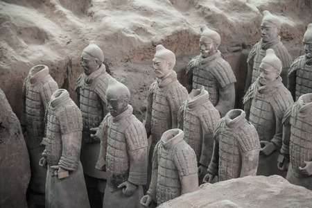Terracotta Warriors and Horses of Xian, China