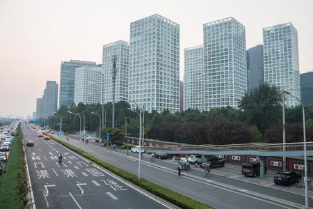 Beijing City Road, China