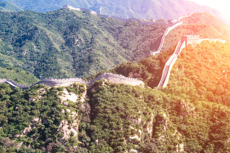 Beijing Badaling Great Wall Landscape, Beijing, China Stock fotó - 108304446