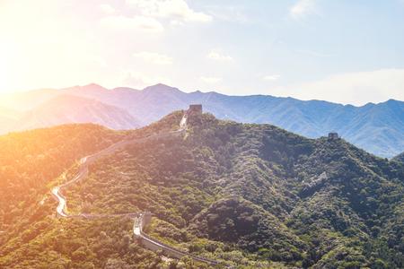 Beijing Badaling Great Wall Landscape, Beijing, China