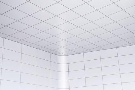 Modern office ceiling corner Stock Photo