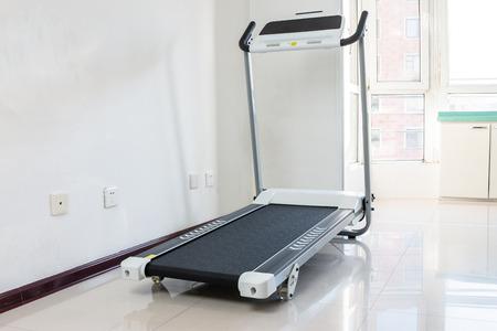 Treadmill indoors Stock Photo - 115866321
