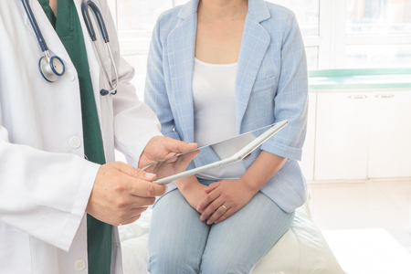 Doctor and patient Stock Photo - 117676233