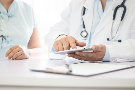 Doctor and patient Stock Photo - 117980704