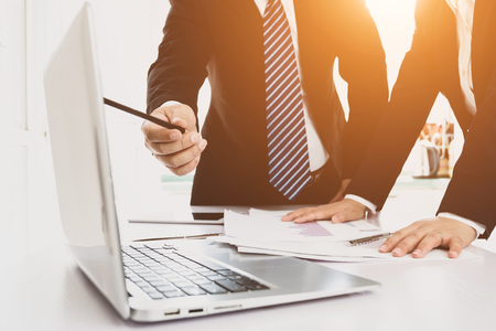Businessman working in the office Stock Photo - 118478025