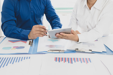 Businessman working in the office Stock Photo - 118478189