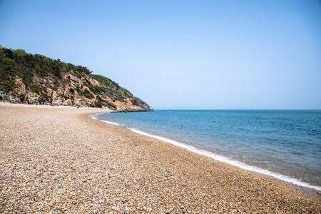 Island landscape in Dalian, China