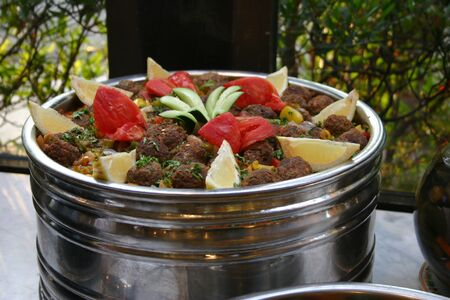 arabian food: Kufta