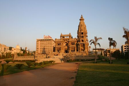 heliopolis: Baron Empain Palace Stock Photo