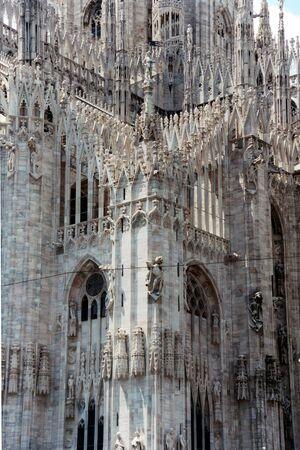 milano: Cathedral in Milano Stock Photo