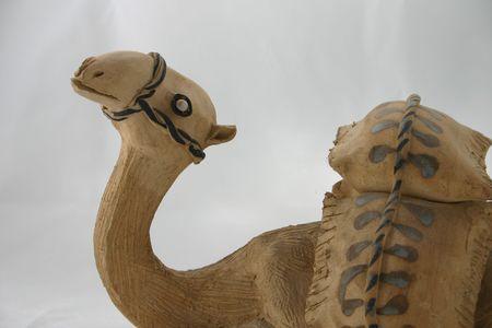 figurative: Camel Clay Figurative Stock Photo