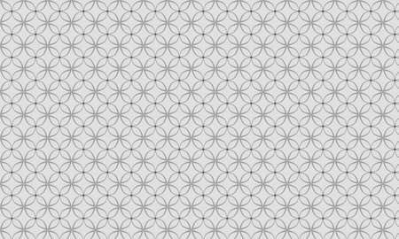 gray: flower gray pattern Illustration