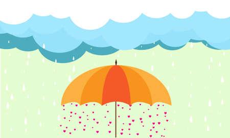 orenge: rain in love