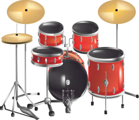 strikken: drum set