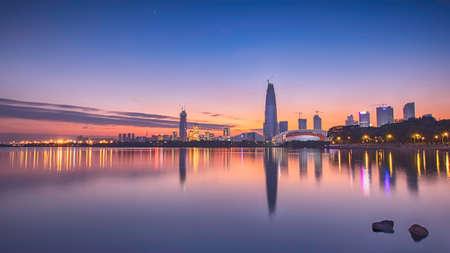 Shenzhen sunset scenery