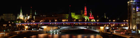 view of the Kremlin with the Patriarchal Bridge