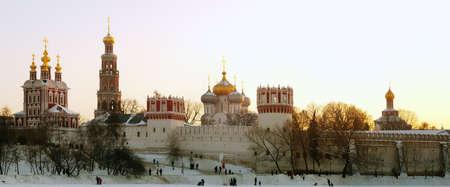firmeza: Monasterio Novod�vichi Foto de archivo