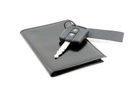 car keys and documents