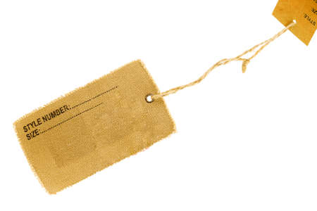 label isolated on a white background