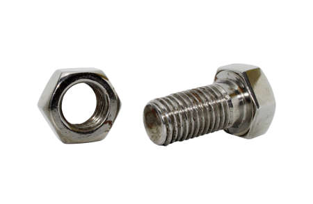 nuts and bolts: screw-bolt and nut