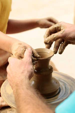Pottery art.