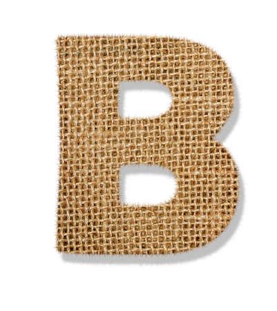 The letter B Standard-Bild