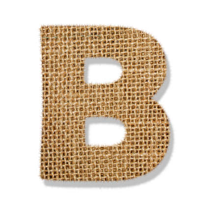 The letter B Stock Photo