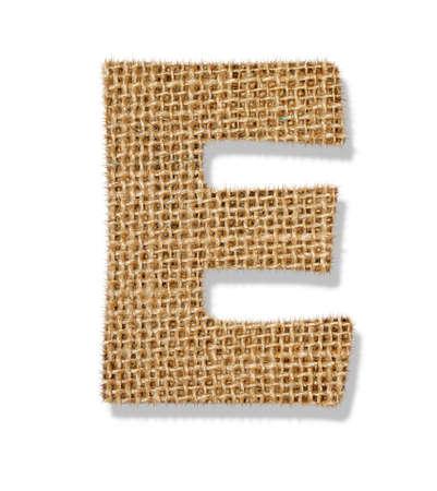 The letter E Standard-Bild