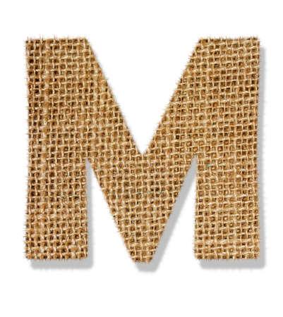 The letter M Standard-Bild