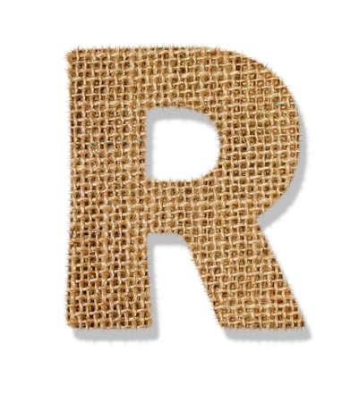 The letter R Standard-Bild