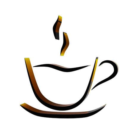 cup of coffee Standard-Bild