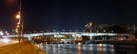 Panoramic views of the Patriarshy Bridge