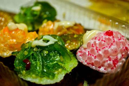 colorfull: Colorfull sushi Stock Photo