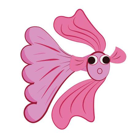 Pink fish2
