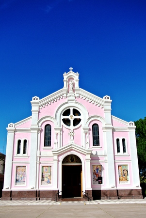 jesus rose: Church Stock Photo